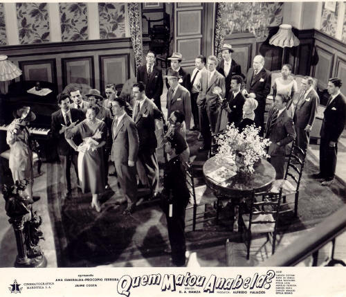 Quem Matou Anabela? Diretor de Produção e ator- 1955