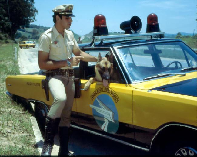 O Vigilante Rodoviário® - 1978  Direção Produção, Argumento e Roteiro do novo piloto da série - 1978