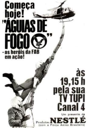 Águias de Fogo  Criação, Direção e Produção da série televisiva - 1967