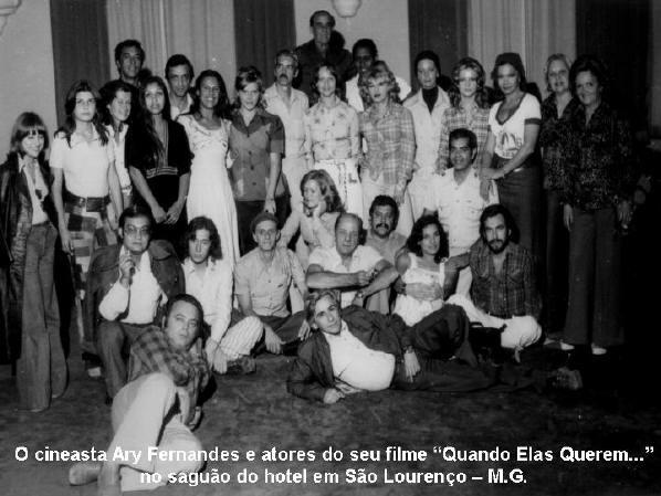 Quando Elas Querem...  Equipe e elenco  Direção, Produção, Argumento, Roteiro - 1975