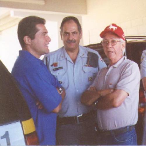Comandante Rezende, Ary e o cantor Daniel