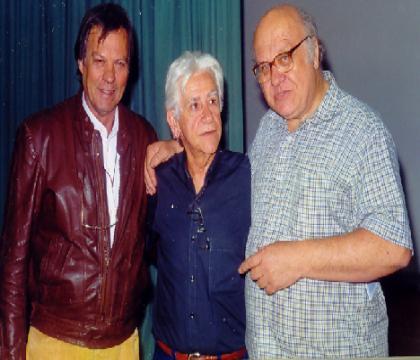 Palestra para os Colecionadores de filmes 16MM  Ator Francisco Di Franco, Ary e Archimedes Lombardi