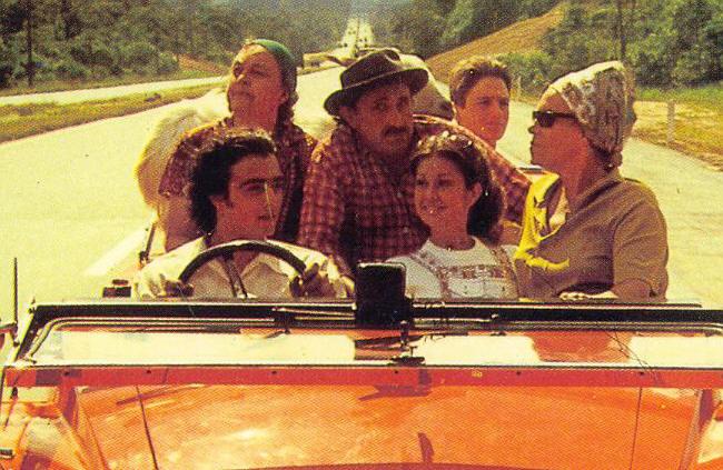 O Jeca e O Bode  A apresentadora de TV Ione Borges estreiava em seu primeiro longa -metragem (ao meio)  Direção, Produção, Argumento e Roteiro - 1972