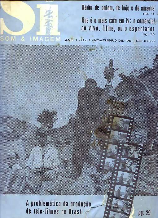 Revista Som e Imagem de novembro de 1961