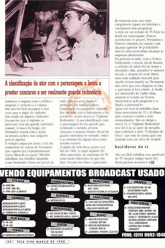 Revista Tela Viva 1998