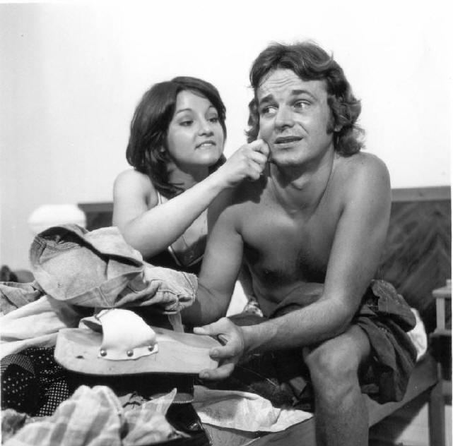 O Super Manso  Na foto, Fausto Rocha  Direção, Produção, Argumento e Roteiro - 1974