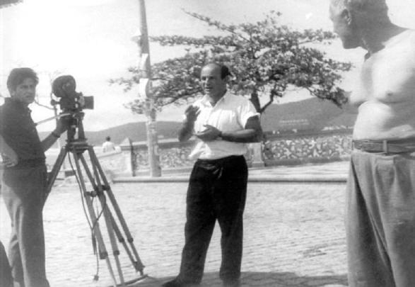 Vigilante Rodoviário® 1961  Bastidores das filmagens no Rio de Janeiro