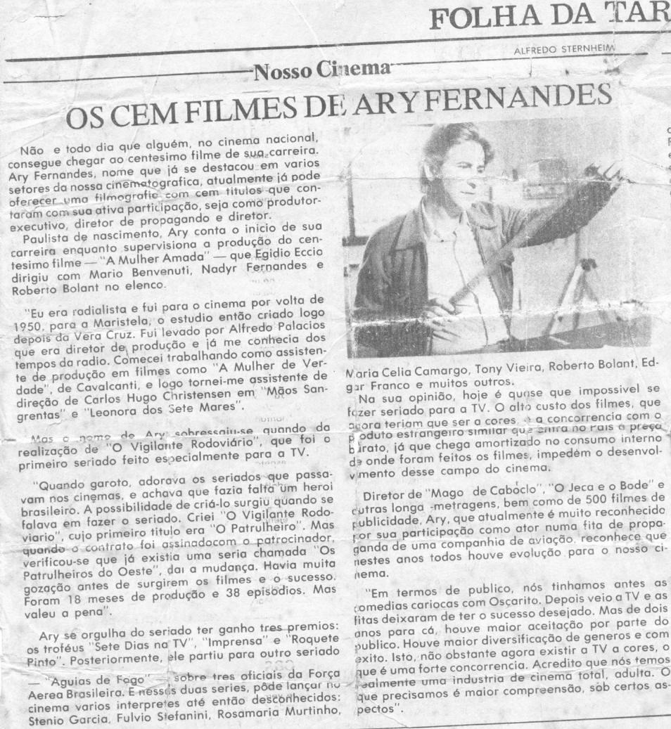 Folha da Tarde - 1972