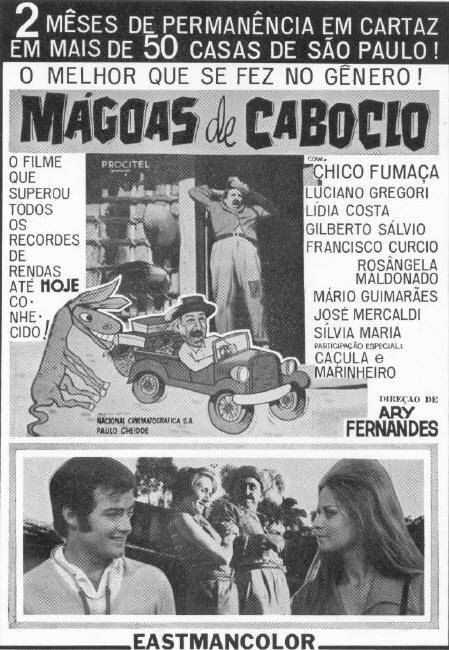 Mágoas de Caboclo  Direção e Produção - 1970