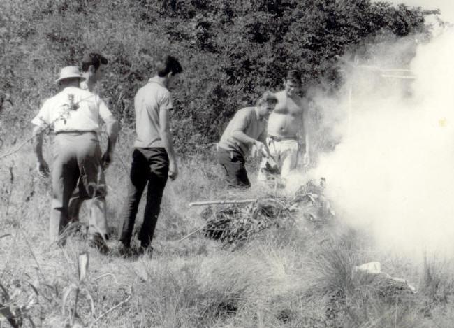 Águias de Fogo - 1967  Bastidores