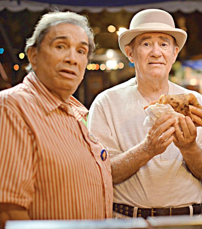 Dedé Santana e Renato Aragão