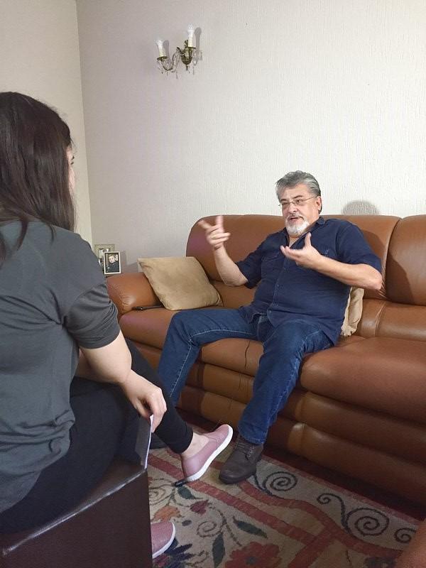 Entrevista para TV Brasil sobre a série